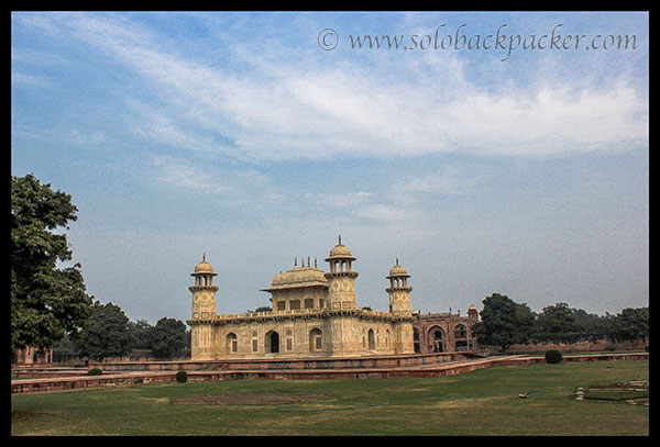 Etmad-Ud-Daula's Tomb and its garden