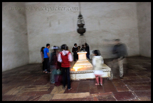 False Cenotaph of Akbar The Great @ Sikandara, Agra
