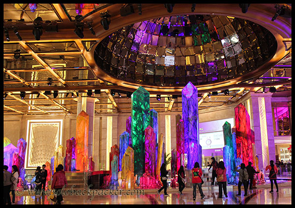 Inside Galaxy Casino, Macau