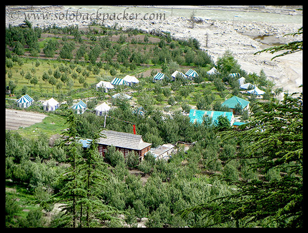 Tented Accommodation in Sangla Valley