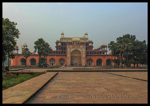 The Tomb of Akbar The Great @ Sikandara, Agra