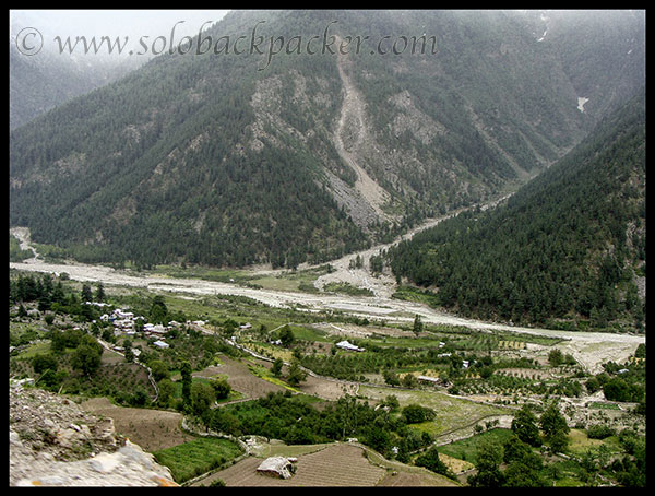 View of Sangla Valley