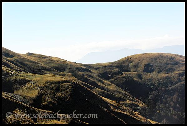 Trail from Bedini Bugyal to Ali Bugyal