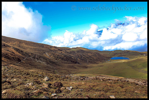 Trail from Bedini Bugyal to Bhagwabusa