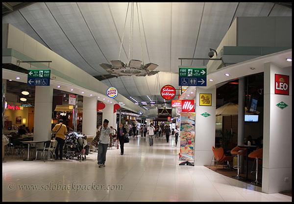 Inside Suvarnbhumi Airport, Bangkok