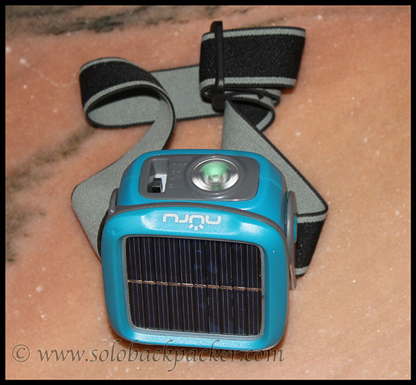 Solar Powered Head Lamp