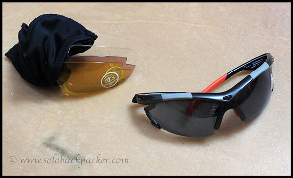 SG 800 Sunglasses with Four Different Lenses
