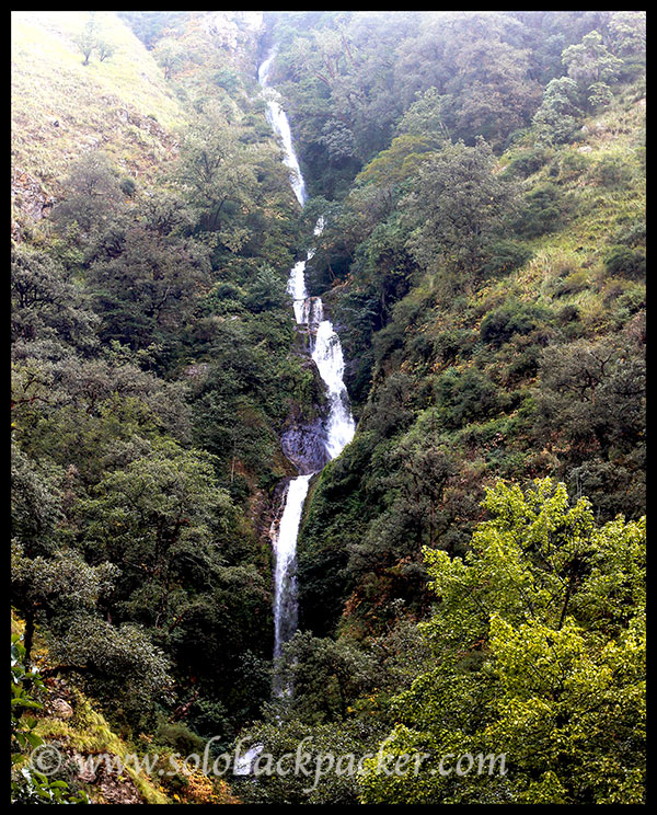 A Beautiful Waterfall near Neel Ganga River