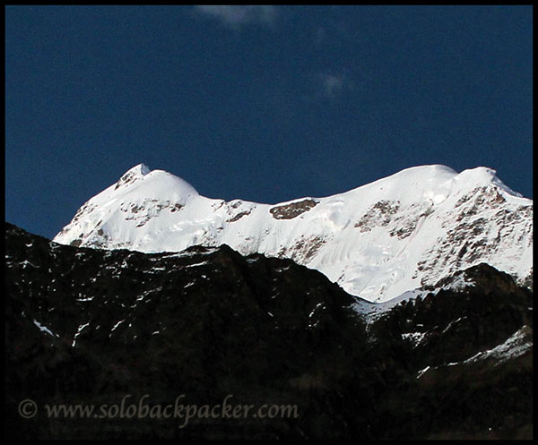 Trishul Peak in the Moonlight