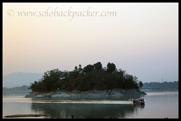 Peacock Island: Brahmputra River