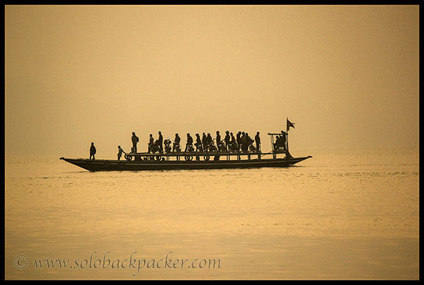 A Public Ferry @ Brahmaputra River
