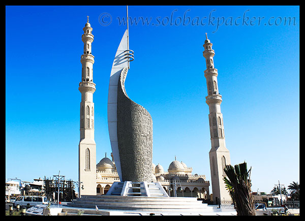 A Mosque in Hurghada