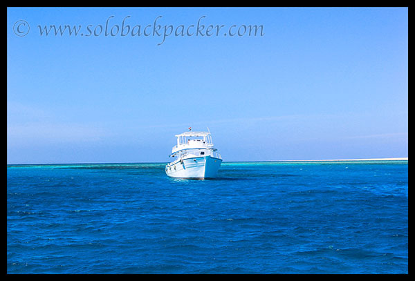A Yacht in Red Sea