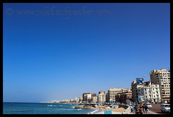 Coastline of Alexandria City