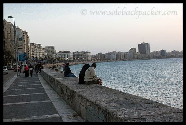 Coastline of Alexandria