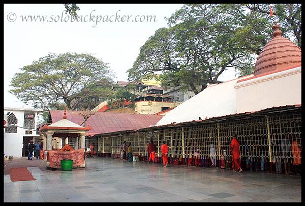 Compound of Kamakhya Temple