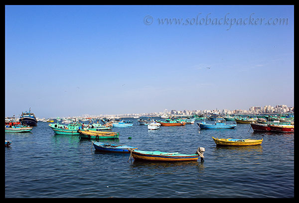 Fishing Boats near the Coast