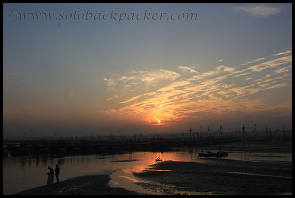 Sunset From Shashtri Bridge, Allahabad