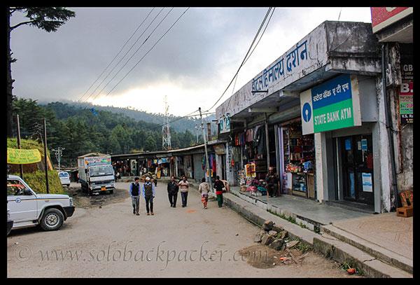 Market in Gwaldam Town