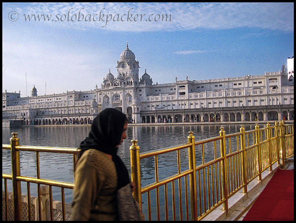 A Devotee at The Golden Temple