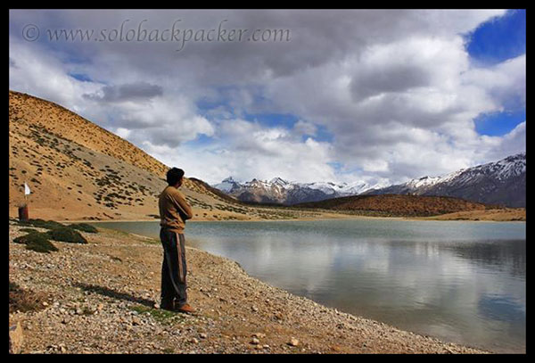 Enjoying the Wilderness of The Himalayas @ Dhankar Lake