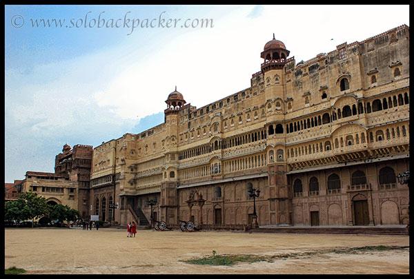 Massive Junagarh Fort, Bikaner