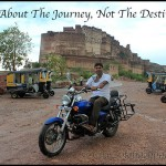 Riding Solo in The Western Rajasthan, Part 1: Snapshot of The Entire Journey