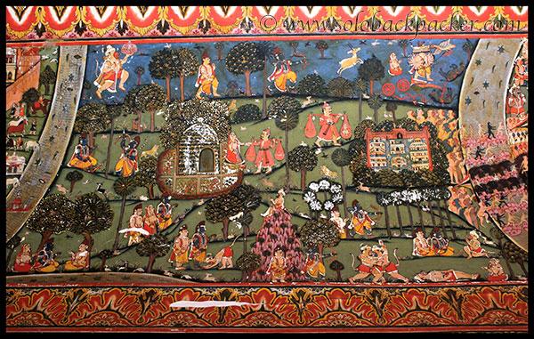 Murals Depicting Ramayana at Sone Ki Dukan in Mahansar