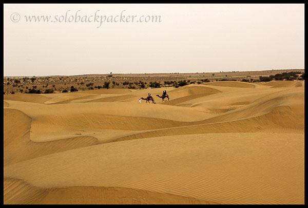 Sam Sand Dunes near Jaisalmer