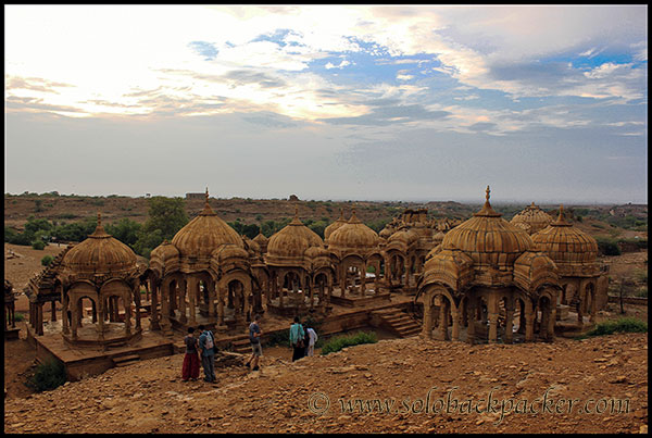 Bada Bagh: The Royal Cenotaphs near Jaisalmer
