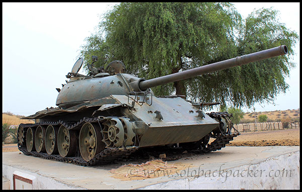 Pakistani Tank on Display