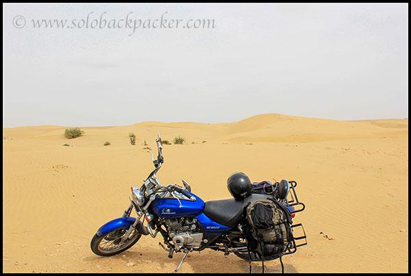 Near Sam Sand Dunes