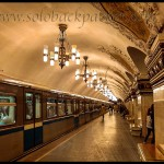 A Visit to The Beautiuful Metro Stations of Moscow