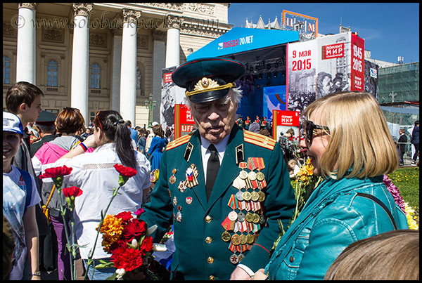 A War Veteran at Bolshoi Theater