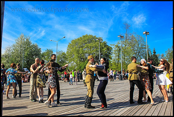 People Dancing at Gorky Park