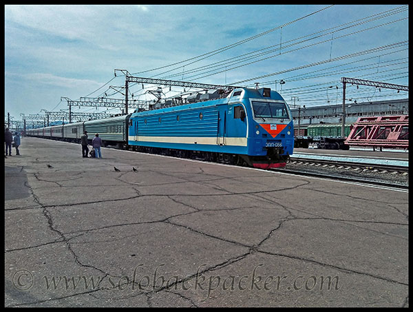 Another Trans-Siberian Train