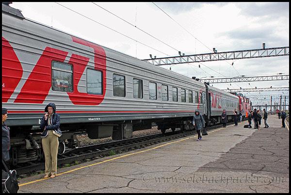A Trans-Siberian Train