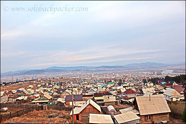A Panoramic View of Ulan Ude