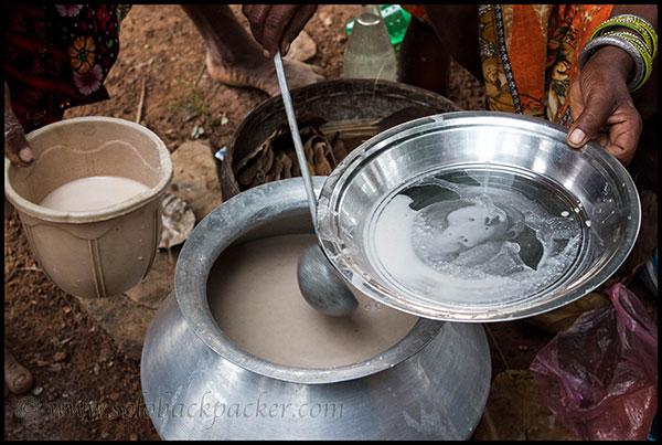 Desi Daru (Home-Made Liquor) Made of Rice