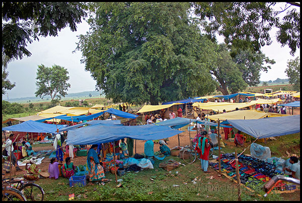 A Local Haat (Market) near Dantewara