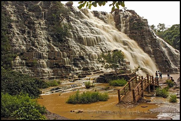 Tirathgarh Falls in Kanger Valley near Dantewara