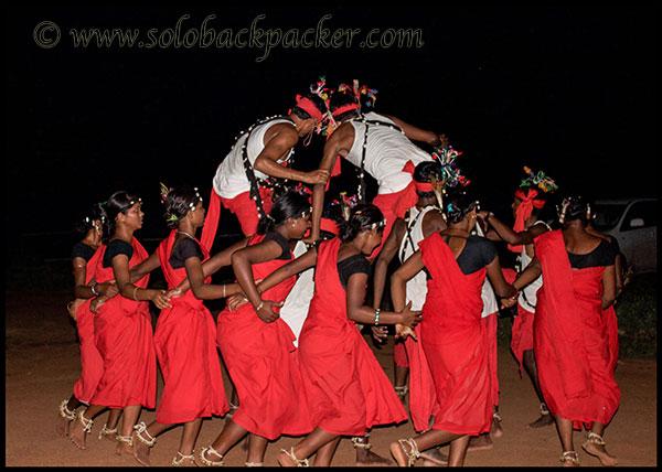 Tribal Dance Performance in Bastar
