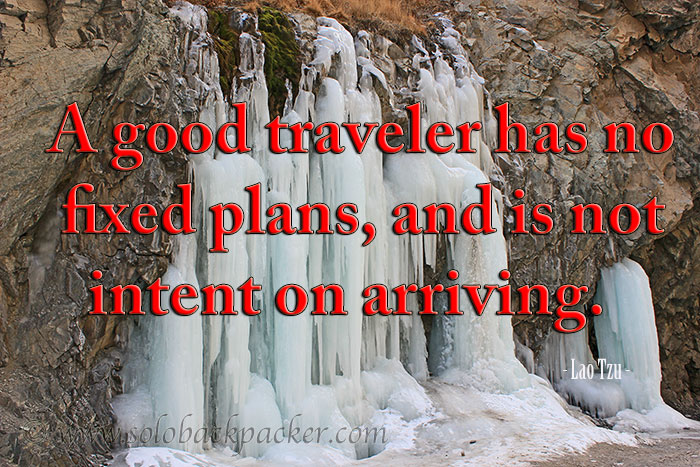 Inspirational Travel Quotes As Complied Solo Backpacker
