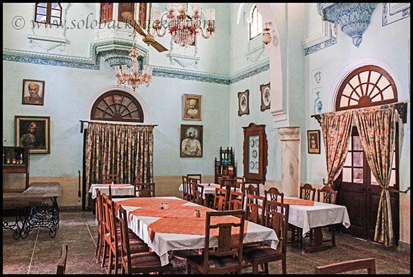 A Royal Room Interior at Pokharan Fort