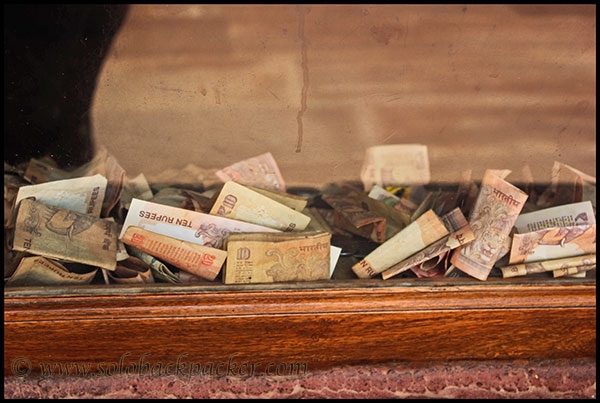 Money Dropped in Museum at Pokharan Fort