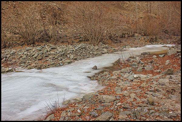 Frozen River at Zingchen Village