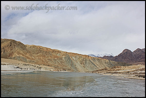 Indus River at Sangam