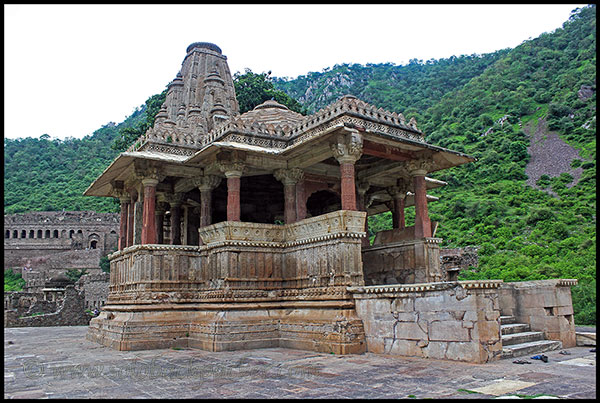 Another Beautiful Temple at Bhangarh