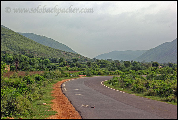 Road in Bhangarh Valley