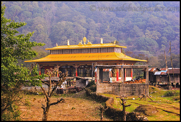 A Monastery in Yuksom Village